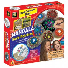 Mandala Rock Painting