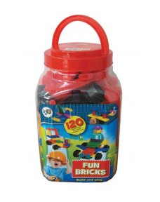Fun Bricks - 120 Pieces (Jar)
