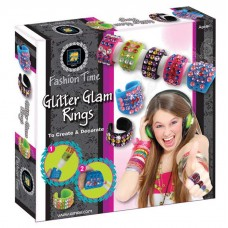 Fashion Time -Glitter Glam Rings
