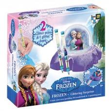 Glitter Dome & Pens-Frozen