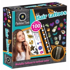 Fashion Time - Hair Tattoos