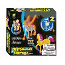 Glow in The Dark Mythical Horses