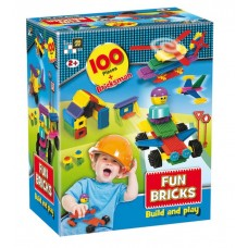 Fun Bricks - 100 Pieces (Box)