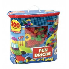 Fun Bricks - 200 Pieces (Bag)