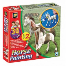 3D Painting - Horses