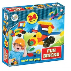 Fun Bricks - 34 Pieces (Box)
