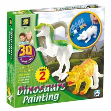 3D Painting - Dinosaurs
