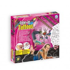 Color-In Tattoos (Girls)