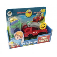 Fun Bricks - Fire Engine Set